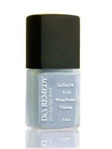 Dr Remedy Soulful Slate Blue Nail Polish